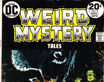 Weird Mystery Tales Comic Book Volume 2 Number 8 Oct-Nov 1973, DC  Comics