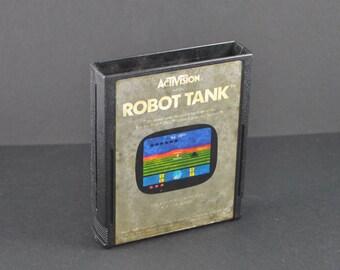 Vintage Atari 2600 Game, Robot Tank, Activision, 1983
