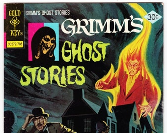 Vintage Comic Book, Grimm's Ghost Stories, Number 39, August 1977, Gold Key Comics