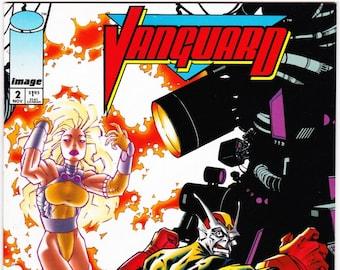 Vintage Comic Book, Vanguard, Number 2, November 1993, Image Comics