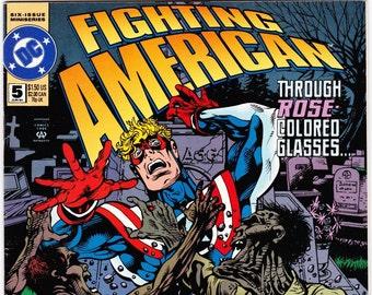 Fighting American Comic Book Number 5 June 1994, DC Comics