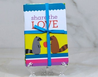 Hallmark Share the Love Mini Notebook Set Includes 3 Miniature Notebooks
