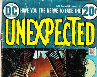 Unexpected Comic Book Volume 18 Number 146 April 1973, DC Comics