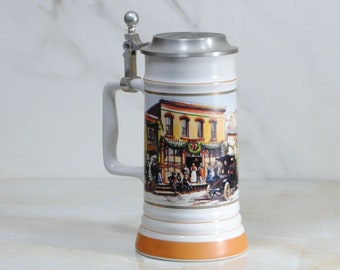 Vintage Coors Brewing Company, WInterfest, 1994-1995, Collectors Beer Stein Numbered 641 out of 9,950