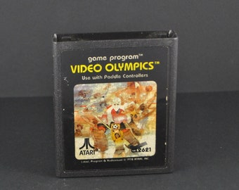 Vintage Atari 2600 Game, Video Olympics, Atari, 1978
