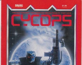 Comic Book, Cycops, Number 2, Summer 1988, Comics Interview Weekly, Books, Vintage Comic, Comic Books, Comic, Vintage Comics