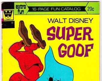 Vintage Comic Book, Walt Disney Super Goof, Number 28, 1967, Whitman Comics