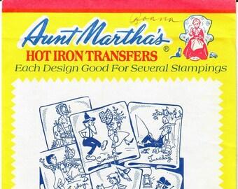 Aunt Martha's Hot Iron Transfers, Hillbilly Doin's #3762