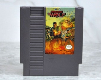 Vintage Nintendo Game Operation Wolf Take No Prisoners Taito 1987