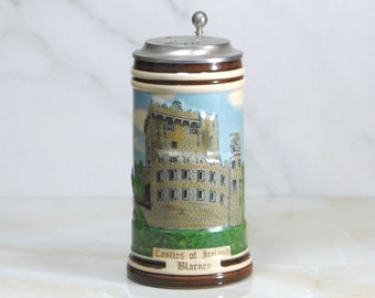 Vintage Beer Stein, George Killian's, 1996, Castles of Ireland, Collectors Stein