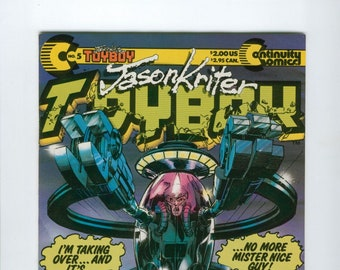 Vintage ToyBoy Continuity Comics Number 5 June 1988