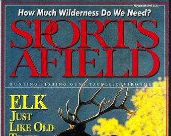 Vintage Sports Afield Magazine November 1991