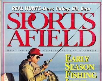 Vintage Sports Afield Magazine February 1991