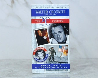 Vintage Readers Digest Presents Walter Cronkite Remembers The 20th Century Space Race And Dreams Of Glory - Astronaut - Neal Armstrong - VHS