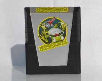 Vintage Atari 2600 Game, Frogger, Parker Brothers, 1981