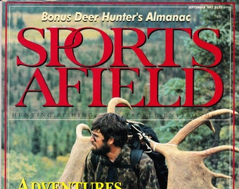 Vintage Sports Afield Magazine September 1991