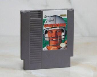 Vintage Nintendo Game, John Elways, Quarterback, NES, 1989
