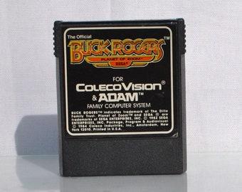 Vintage ColecoVision & Adam Game, Buck Rogers, Sega, 1984