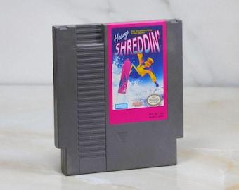 Vintage Nintendo Game Heavy Shreddin 1991