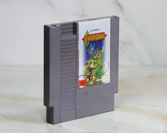 Vintage Nintendo Game, Castlevania, Konami, Nintendo, 1986