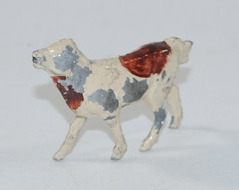 Vintage Barclay Manoil Lead Figure, Lamb, Made France 1950s