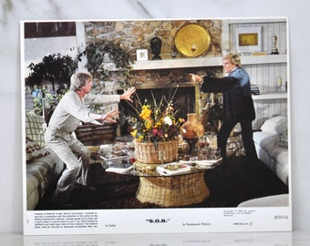 Vintage 8x10 Color Lobbycard From The Movie SOB, Paramount Pictures,1981, Movie Still, Hollywood, Promotional, Advertisement, Film