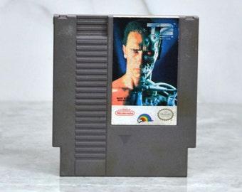 Vintage Nintendo Game Terminator 2 Judgement Day Bits Studios 1991, Video Game, Console Game, Vintage Game, Vintage Nintendo, Vintage NES