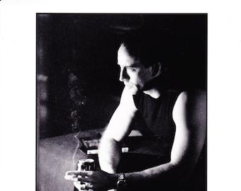 Vintage Photograph Nicolas Cage In 8 Millimeter 1999, 8x10 Black & White Promotional Photo