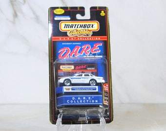 Matchbox Die cast Car, D.A.R.E. Collectibles Collection, Landover Hills Police Department Maryland, Exclusive Edition