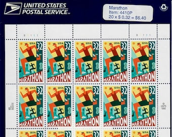 Vintage Stamps, Marathon 1996 32 Cent, Scott 3067