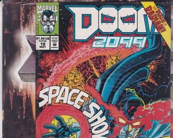 Vintage Comic Book, DOOM 2099, Number 18, May 1993, Marvel Comics