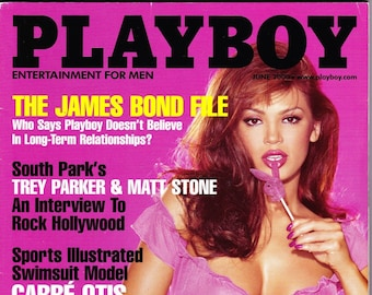 Playboy Magazine June 2000 with Jodi Ann Paterson, Shannon Stewart, South Park's Parker & Stone, James Coburn
