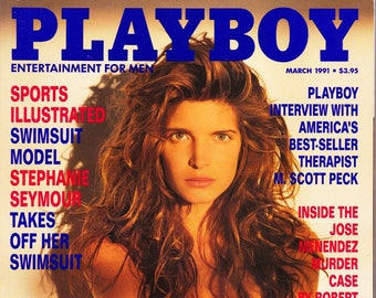 Vintage Playboy Magazine March 1991 With Jose Menendez
