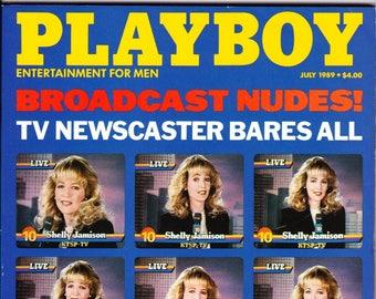Vintage Playboy Magazine July 1989