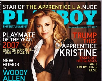 Playboy Magazine June 2007 with The Apprentice Kristine Lefebvre, Brittany Binger, The Simpson's Matt Groening, Comic Don Rickles