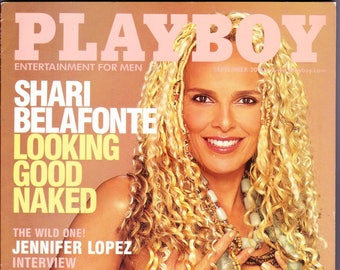 Playboy Magazine September 2000 with Shari Belafonte of Beyond Reality & Hotel, Singer And Actor Jennifer Lopez, Seth Green
