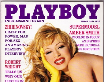 Vintage Playboy Magazine March 1995