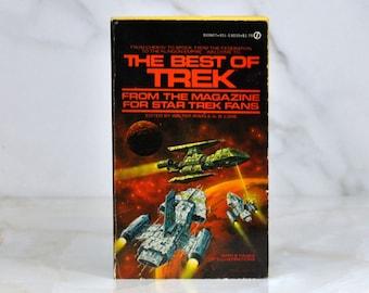 Vintage Star Trek The Best Of Star Trek Volume 1 From The Magazine For Star Trek Fans - 1978