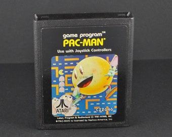 Vintage Atari 2600 Game, Pac-Man, Atari, 1982