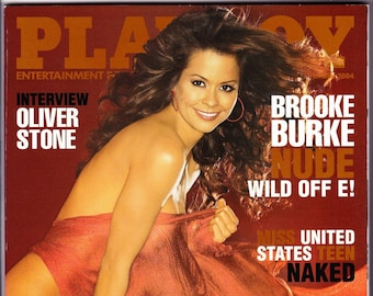 Playboy Magazine November 2004 with Wild On's Brooke Burke, MTV Star Cara Zavaleta, Oliver Stone, Doom 3 Creator John Carmack
