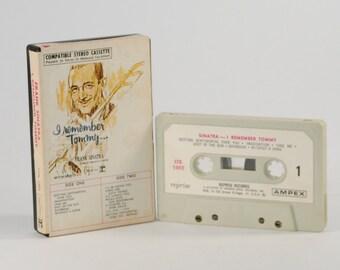 Vintage Cassette Tape Frank Sinatra I Remember Tommy 1961