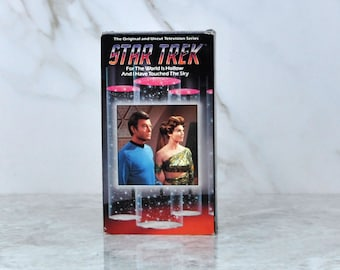 Vintage VHS Tape Star Trek The Original Series TV Episode 65 For The World Is Hollow And I Have Touched The Sky Airdate November 1968