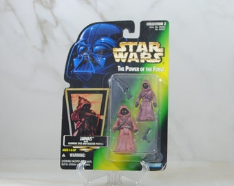 Vintage Star Wars Action Figure JAWAS 1997 The Power of the Force, Hasbro Figure
