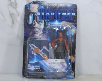 Vintage Star Trek Action Figure Lily 16100 16110 1996, First Contact