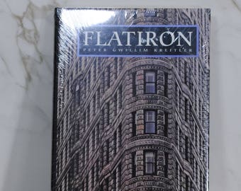Vintage Book, Flatiron, New York City, Broadway, Fifth Avenue, 23rd Street, Photographic History, World's First Steel Frame Skyscraper