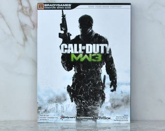Call of Duty: Modern Warfare 3 Signature Series Strategy Guide, Bradygames, 2011, Detailed Maps, Expert Tactics, All Weapons, Killstreaks