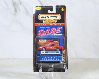 Matchbox Die cast Car, D.A.R.E. Collectibles Collection, Plainfield Police Department Illinois, Exclusive Edition