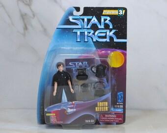 Vintage Star Trek Action Figure Edith Keeler 65100 65114 1997 Warp Factor 3 Series