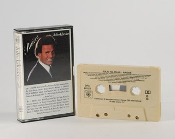 Vintage Cassette Tape Julio Iglesias Raices 1989