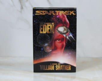 Vintage The Ashes Of Eden, Hard Back, Book, Star Trek, 1995, William Shatner, Hardback, USS Enterprise, 1701-B, Klingon Empire, Captain Kirk